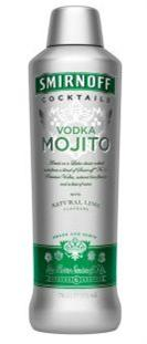 Smirnoff Cocktails Vodka Mojito